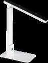 hama SL40 - LED-Schreibtischlampe - Tageslicht/Stepdimmer - Schwarz/Weiss