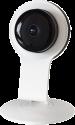 xavax 176516 - WiFi-Überwachungskamera mit App - Mit Nachtsichtfunktion - Weiss/Schwarz