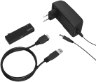 hama USB-3.1-SATA-Festplattenadapter - Schwarz