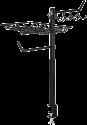 xavax 111591 - Grill-Organizer - Höhenverstellbar 60-72 cm - Schwarz