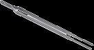 xavax Grillpinzette aus Edelstahl - 31 cm - Silber