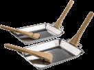 xavax Grillpfännchen aus Edelstahl - 6-teilig - Silber