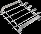xavax 111585 - Grillspiess-Set - Silber
