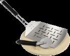 xavax 111590 - Grillstein-Pizza-Set - Ø 28 cm - 3-teilig