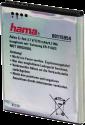 hama Li-Ion Akku - pour Samsung Galaxy SII - Argent