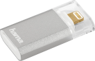 hama Save2Data mini - microSD - Argento