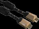 hama 122210 - Cavo HDMI Premium - 1.5 m - Bronzo Caffè