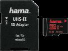 hama microSDHC UHS Speed Class 3 - Carte mémoire - 32 Go - Noir