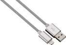hama Color Line - Lightning Kabel - 2 m - Silber