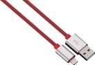 hama Color Line - Lightning Kabel - 2 m - Rot