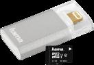 hama 123937 - microSDHC e Lightning-Lettore di schede - Per Apple iPhone o iPad - Grigio
