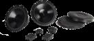 hama 2-Wege Komponenten-System - Lautsprecher - 16.5 cm - Schwarz