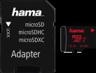 hama microSDXC UHS-I - Carte mémoire - 128 Go - Noir
