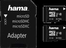 hama 181004 - microSDHC-Karten und SD-Adapter - Class 10 - Schwarz