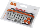 hama ROTATE - USB Stick - 32 GB/ 5 Stück - Schwarz/Silber