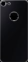 hama Echtglas-Schutz Back Side - Für Apple iPhone 7 - Diamantschwarz