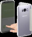 hama View - Pour Samsung Galaxy S8 - Argent