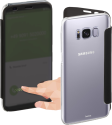 hama View - Pour Samsung Galaxy S8+ - Noir