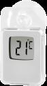 hama - Digital Fensterthermometer - Für Innen und Aussen - Weiss