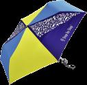 Step by Step Ombrello Blue & Yellow - Con effetto Magic Rain - Blu/Giallo