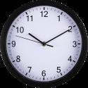 hama Pure - Horloge murale - Ø 25 cm - Noir