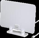 hama 121656 - DVB-T/DVB-T2-Zimmerantenne - Superflach - Weiss