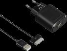 hama Kit de charge - Pour tablette Samsung - 30 broches, 5V/2,1A - Noir