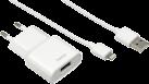 hama Reise Ladegerät - für Apple iPad - Weiss