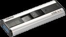 hama Pro+ - Clé USB - 128 Go - Argent