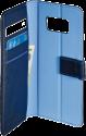 hama Booklet 2in1 - Étui portefeuille - Pour Samsung Galaxy S8 - Bleu foncé/Bleu