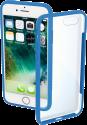 hama Frame - Étui - Pour Apple iPhone 7/8 - Transparent/Bleu