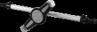 hama 182544 - Support pour appuie-tête - Pour tablettes de 7 à 10,5 - Argent/Noir