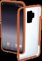 hama Frame - Per Samsung Galaxy S9+ - Transparent/Arancione