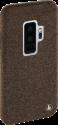 hama Cozy - Étui - Pour Samsung Galaxy S9+ - Marron foncé