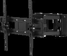 hama 118125 - TV-Wandhalterung FULLMOTION - Von 81 bis 165 cm (32 bis 65) - Schwarz