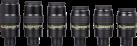 baader planetarium Morpheus - 76° Weitwinkel-Okularsatz - Brennweite: 4,5 mm/6,5 mm/9 mm/12,5 mm/14 mm/17,5 mm - Schwarz