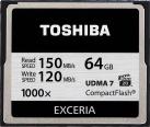 TOSHIBA EXCERIA CompactFlash, 64 GB