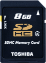 TOSHIBA SDHC N102, 8 GB