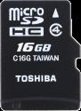 TOSHIBA microSDHC M102, 16 GB