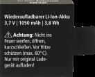 Rollei Batterie de rechange - Pour Actioncam 530/630 - Noir