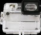 Rollei Custodia Subacquea - Per Actioncam 530/630 - Transparent