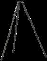 Rollei Rock Solid Alpha Carbon - Stativ - 4 Beinsegmente - Schwarz