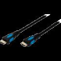 ISY IHD-3100 - HDMI Kabel - 1.5 m - Schwarz/blau