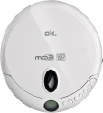 ok. OPC 310-W Tragbarer CD Player, weiss