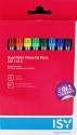 ISY IOE-1016 - Pennarello a doppia punta sintetica - 10 colori