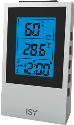 ISY IWS 3101 - Digitale Wetterstation - LC Display - Weiss
