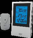 ISY IWS 3501 - Station météorologique numérique - Ecran LCD - Blanc