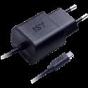 ISY Quick Charger IWC 3500 - Ladegerät - Micro USB - Schwarz
