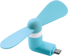 ISY IGS-800 - Micro-USB-Ventilator - Blau