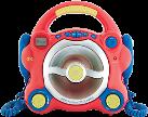 ok. OPC 210CD - Lecteur CD -  Due microfoni - Rosso/Blu